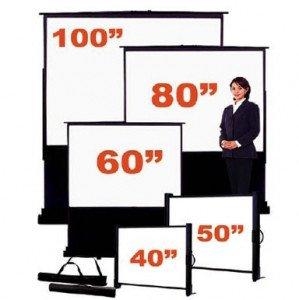 Australian presentation systems for Motorized floor up screen